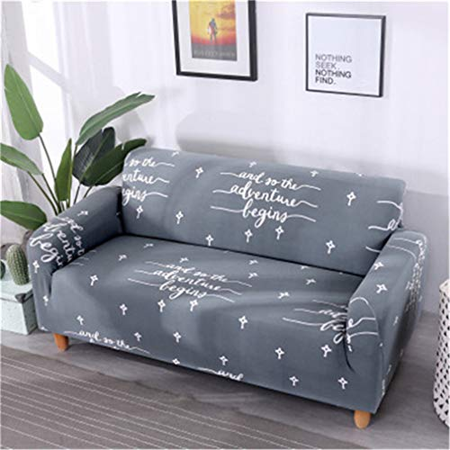 RETAINS Floral Printing Sofa Cover Flexible Stretch Big Elasticity Couch Cover Loveseat Sofa Slipcover Color 15 1-Seat 75-140cm