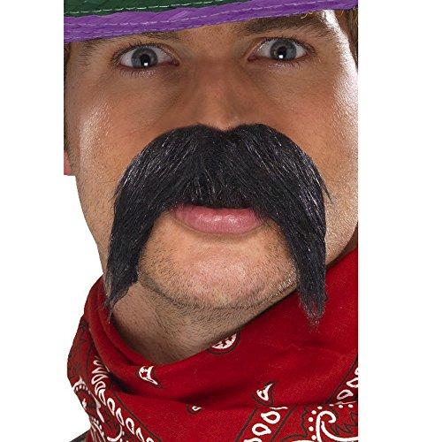 [Big and Bushy Gringo Moustache Costume] (Moustache Halloween)