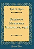 Amazon / Forgotten Books: Seabrook Nurseries Gladiolus, 1928 Classic Reprint (Louis G Rowe)