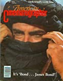 American Cinematographer Magazine July 1987 (The Living Daylights, Hollywood's 100th Birthday, Cinemaster Ed Colman, Teh Untouchables, Re-release of Lost Horizon, Ediflex) (Vol. 68. No. 7)