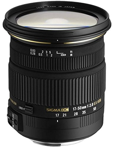Sigma 17-50mm f/2.8 Ex Dc Hsm Lens for Pentax DSLR Camera