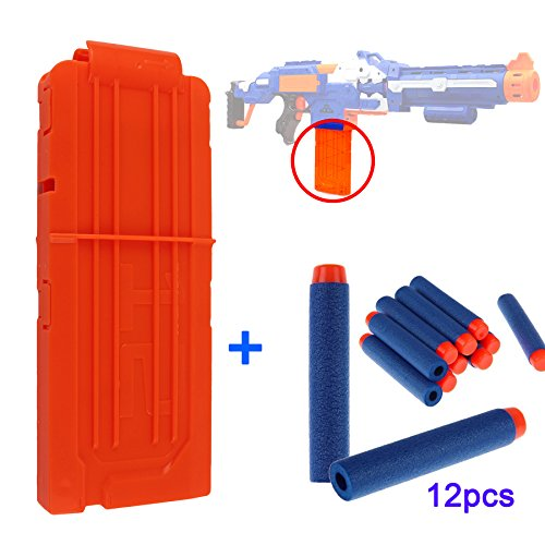 vorosy-12-refill-bullet-darts-quick-reload-clip-for-toy-gun-nerf-n-strike-elite-blasters-with-12pcs-