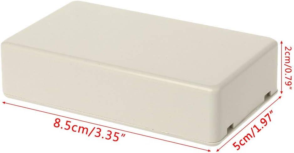 Le logement de Couvercle en Plastique 85 X 50 X 21mm Yanhonin bo/îte de jonction /électrique /étanche