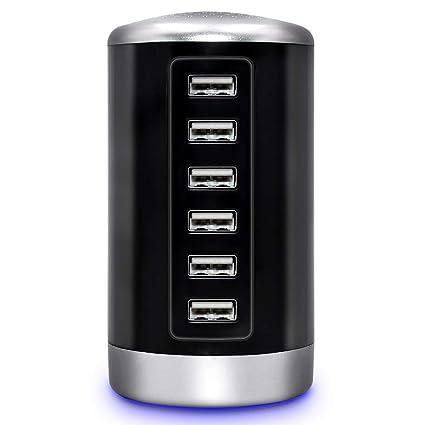 Amazon.com: Estación de carga USB Hub – Cargador de ...