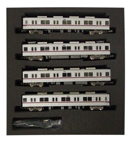 Tobu Series 10030 Isesaki Line Standard Four Car Formation Set (w/Motor) (Model Train)