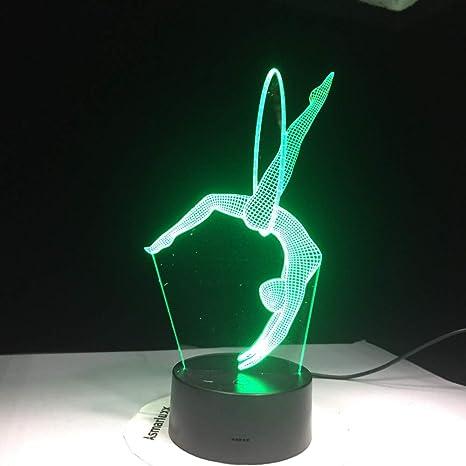 Lindo personaje 3D luz de la noche para niños bebé juguete ...