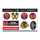 NHL Chicago Blackhawks Large Sticker / Decal Pack