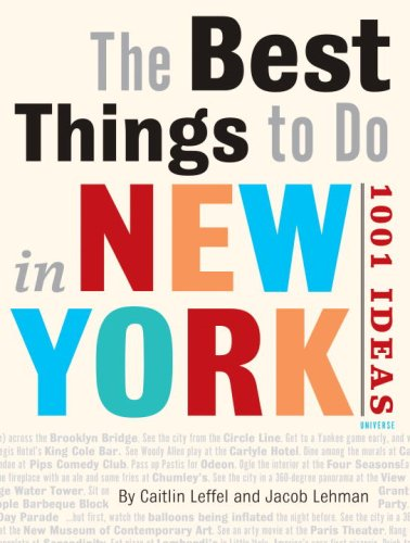 Download The Best Things to Do in New York City: 1001 Ideas pdf