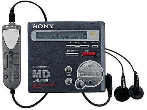 Sony mZ-r70/b lecteur portable miniDisc (noir mat) SONH3 MZ-R70B