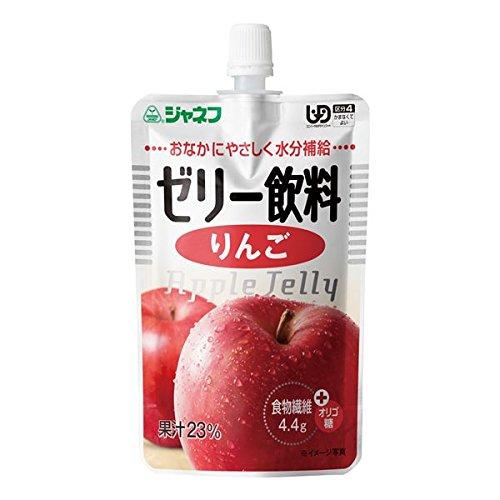 (まとめ)キユーピー 介護食 ジャネフ ゼリー飲料りんご 8袋 12910【×15セット】 ds-1547293   B06XQW2H54