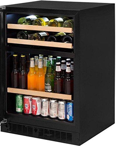 Price comparison product image Marvel ML24WBF2LP 24 Inch 5.1 cu. ft. Capacity Freestanding Compact Beverage Center in Panel Ready