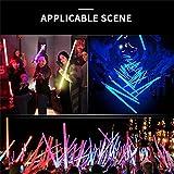 LED Light Saber Sword Glow Sticks, 9 Colors