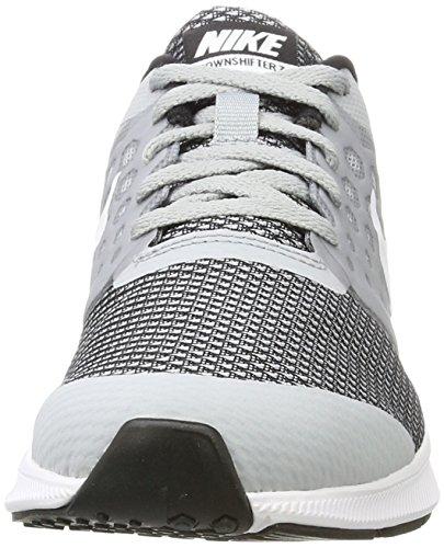 Nike Boys Downshifter 7 (gs) Scarpa Da Corsa Nero / Università Oro-bianco