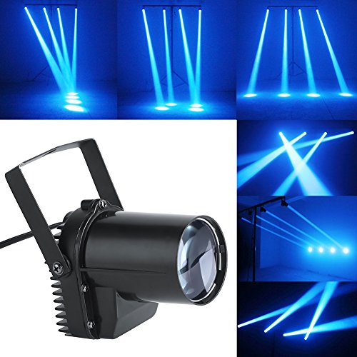LED Stage Spotlight,30W LED Beam Spotlight Cool White Party Stage Light Disco Pub Festival Effect Lights US 110V