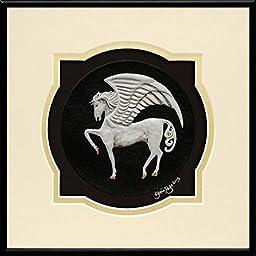 Pegasus - Cast Paper - Fantasy art - legendary creature - mythology - magical horse - winged horse