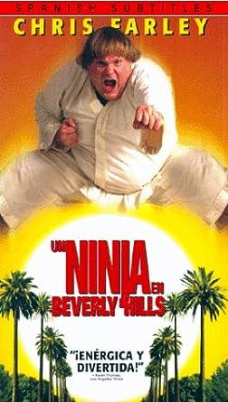 Amazon.com: Beverly Hills Ninja [VHS]: Chris Farley ...