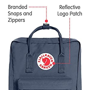 Fjallraven - Kanken Classic Pack, Heritage and Responsibility Since 1960, One Size,Graphite