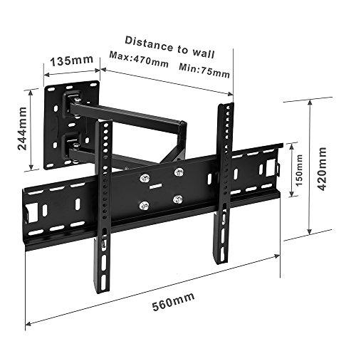 Sunydeal Tv Wall Mount Bracket For Vizio Samsung Lg Sony