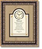 Retirement - 15'' X 18'' Framed Wall Clock