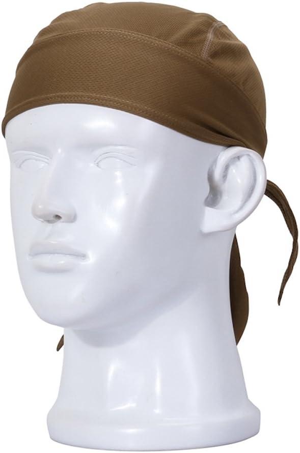 1PCS Moisture Wicking Cooling Skull Cap Helmet Liner Beanie Bald Cap Dome Cap