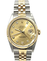 Datejust swiss-automatic mens Watch 16233 (Certified Pre-owned)