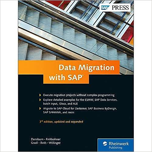 SAP Data Migration: From LSMW to SAP Activate (SAP PRESS) - Original PDF