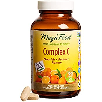 MegaFood - Complex C, Supports & Maintains Healthy Immune Function, 90 Tablets (FFP)