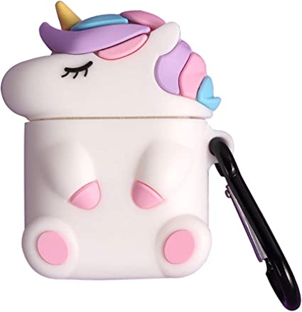 Pink Unicorn Airpod Case for Apple