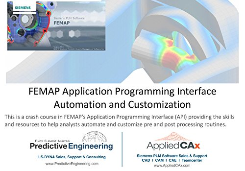 Learn the FEMAP API (Application Programming Interface) for Automation and Customization - Video training series