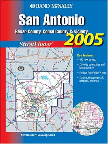 (Rand Mcnally San Antonio, Bexar County, Comal County, & Vicinity: Street Finder)