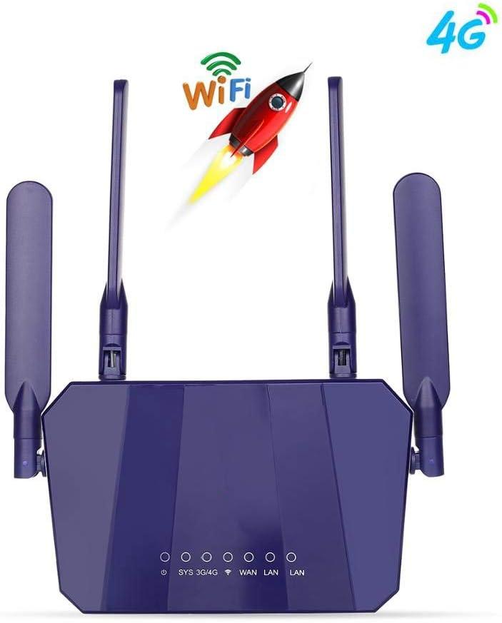 Router inalámbrico Routers CPE Router WiFi Desbloqueado Puertos Ranura for Tarjetas SIM (Color : A)