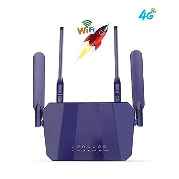 Router inalámbrico Routers CPE Router WiFi Desbloqueado Puertos ...