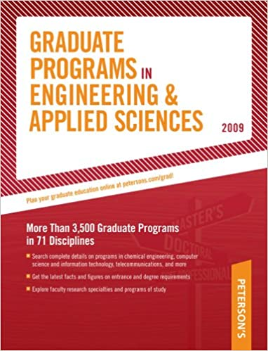 Download online Grad Guides BK5: Engineer/Appld Scis 2009 (Peterson's Graduate Programs in Engineering & Applied Sciences (Book 5)) PDF, azw (Kindle)