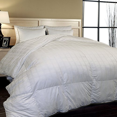 BR Home 600 Thd Ct Window Pane Alt Down Comforter 121983 King