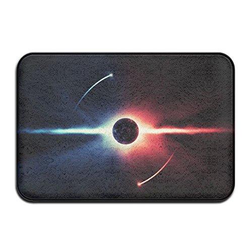 Ying Yang Eclipse Entrance Doormat Rug Carpet Floor Mats Kitchen Rug 15 7  X 23 6