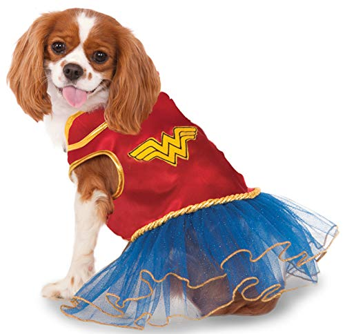 DC Comics Wonder Woman Pet Tutu Dress, Medium -