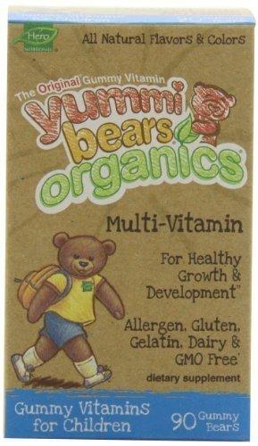 HERO NUTRITIONAL PRODUCTS YUMMY BEAR,MULTI-VIT,OG3, 90 CT