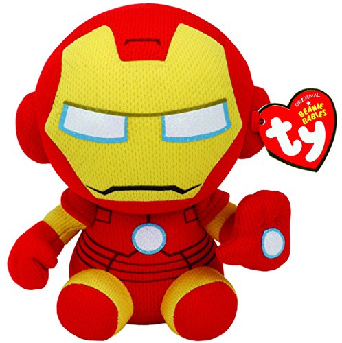 Ty Ironman Plush, Yellow, - Plush Beanie Toy Baby