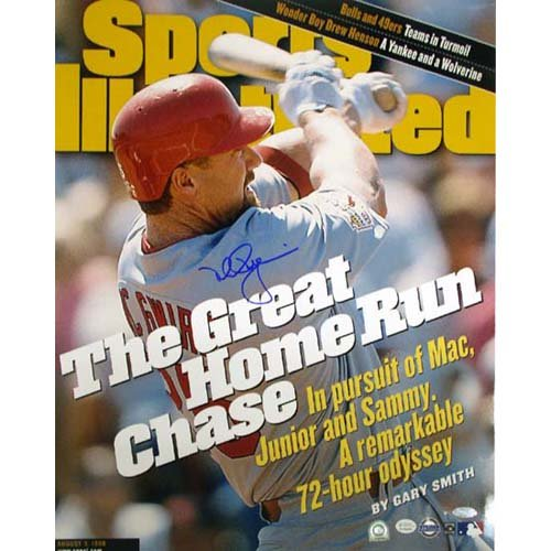 Steiner Sports MLB Saint Louis Cardinals Mark McGwire SI Cover Great HR Chase (16 x 20-inch)