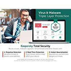 Kaspersky Total Security 2021 | 10 Devices | 1 Year | Antivirus, Secure VPN and Password Manager Included | PC/Mac… Fdeals mac