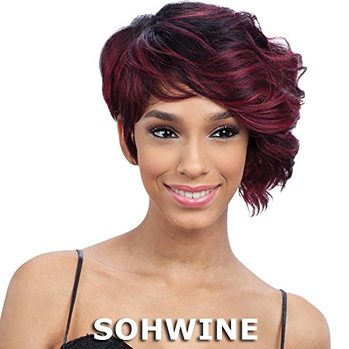 010 Green - Shake-N-Go Equal Green Cap Protective Style Wig - 010 (1 Jet Black)