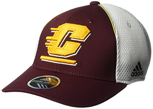 c4e17ca26b99a adidas NCAA Central Michigan Chippewas Adult Men Spring Game Structured  Adjustable Hat