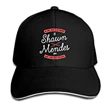 Match Sandwich Bill Cap Shawn Mendes Best Mistakes Something Big Snapback Caps