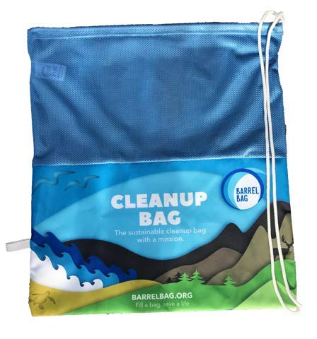 Barrel Bag: Reusable, Eco-Friendly, Compact Beach Cleanup Bag with a Mission