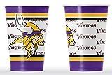 NFL Minnesota Vikings Disposable Paper Cups (20-Pack)