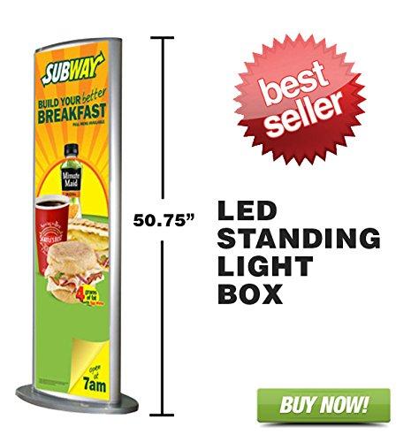 Signworld LED Floor Standing Advertising Light Box Sign by Signworld