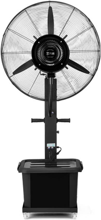 加湿器スタンドファン振動冷却ミスト台座強力ホーンファンエアサーキュレータ、3速モーター付き工業用住宅 110V / 50Hz