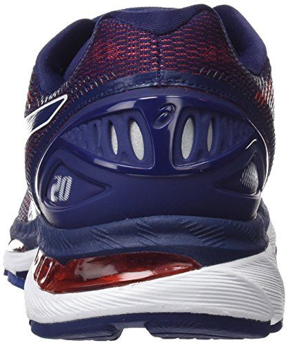 Indigo ASICS Indigo 20 Nimbus Shoe GEL Red Blue Blue Men Fiery qCqw0O1