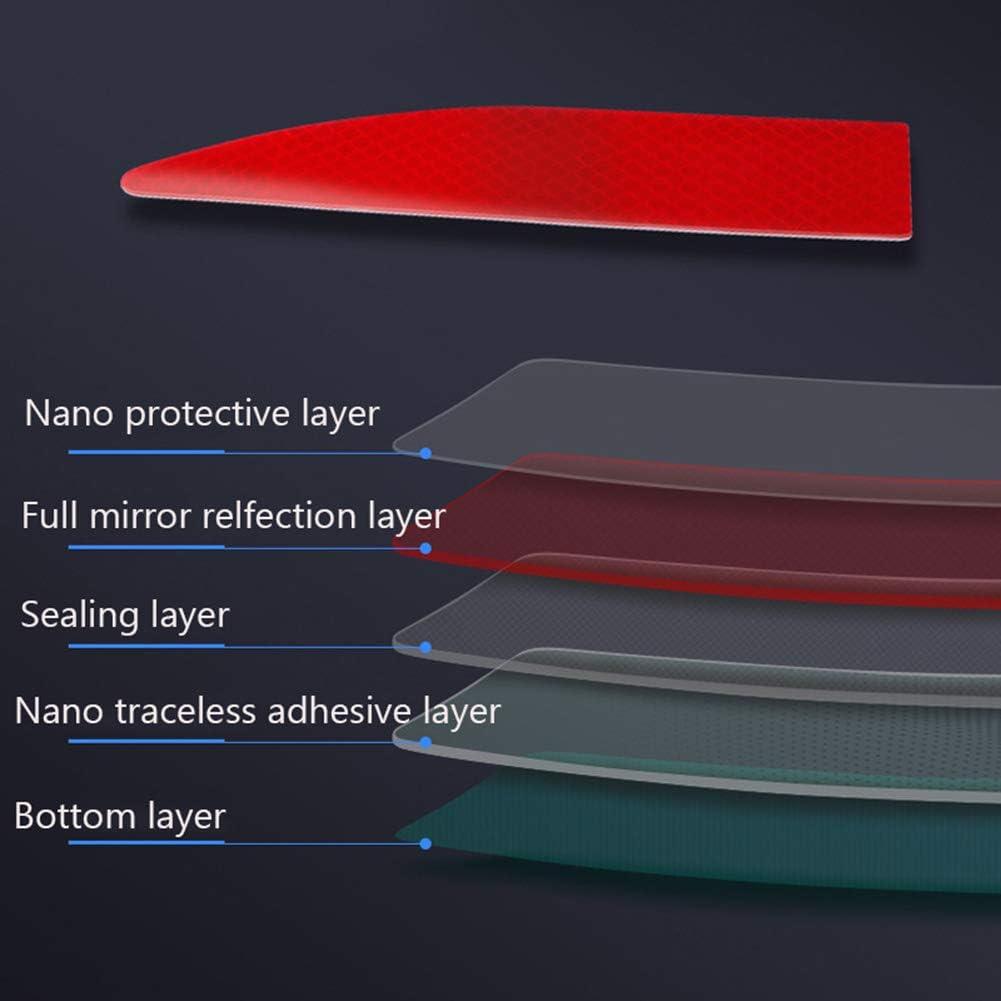 LOVFASH 35 Car Exterior Reflective Strip Warning Safety Reflector Sticker Car Decor Car Accessories