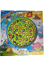 Kids Fishing Toy with Music 45 Fishes and 5 Pins